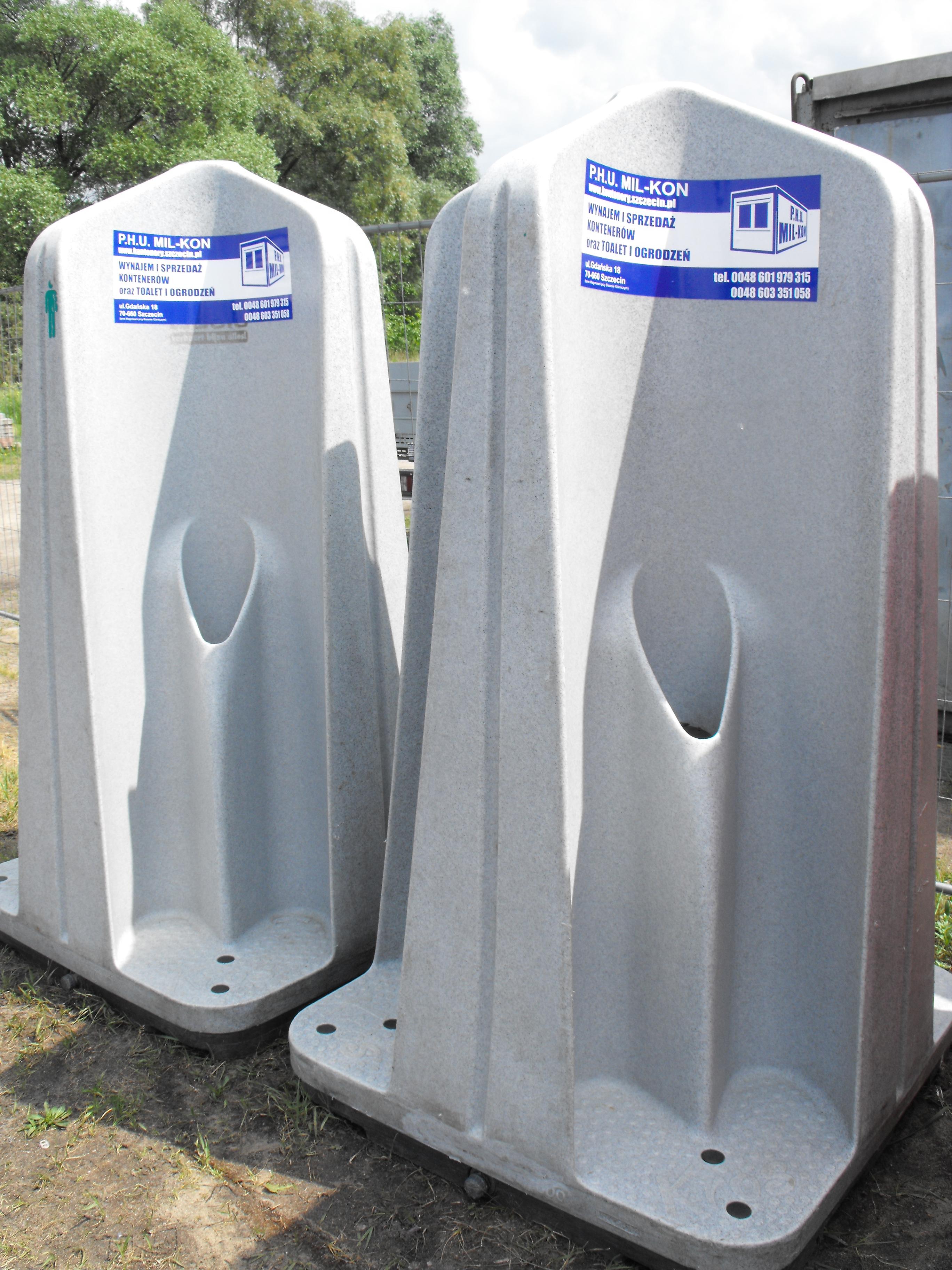 Bardzo dobra MIL-KON Wynajem kontenerów i toalet przenośnych 601 979 315 UF73