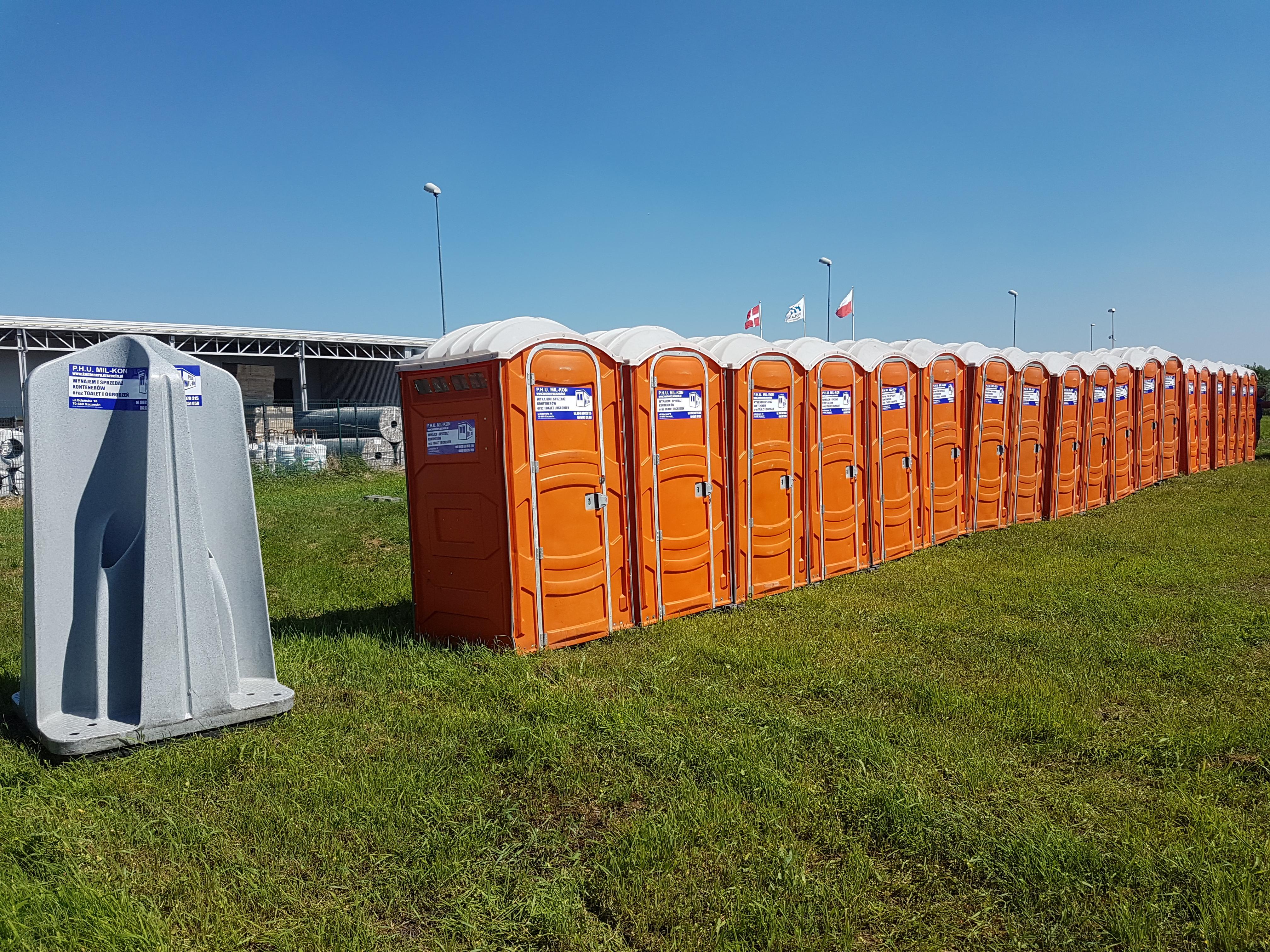 Modernistyczne MIL-KON Wynajem kontenerów i toalet przenośnych 601 979 315 WX55
