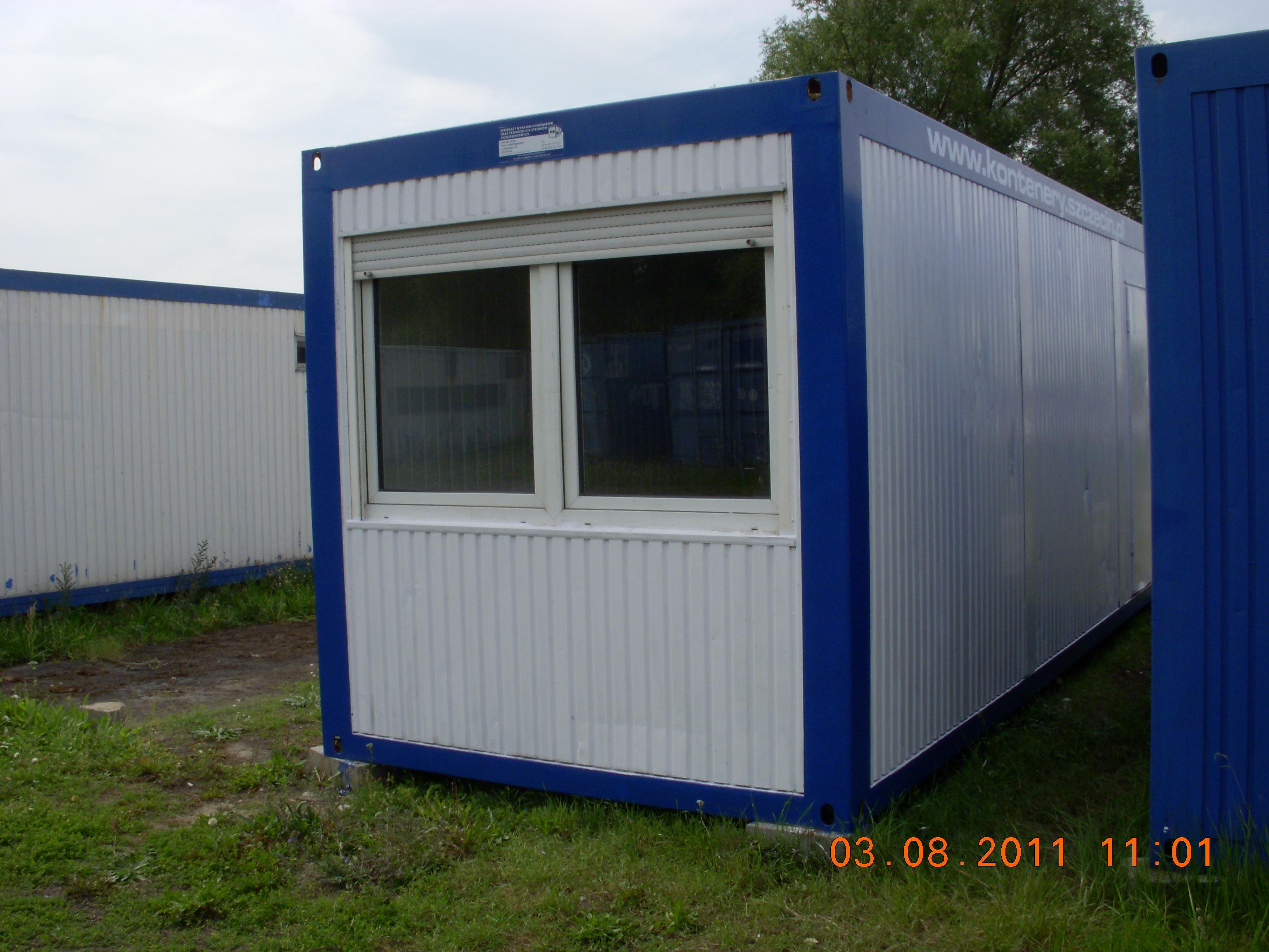 Niewiarygodnie MIL-KON Wynajem kontenerów i toalet przenośnych 601 979 315 ZG28